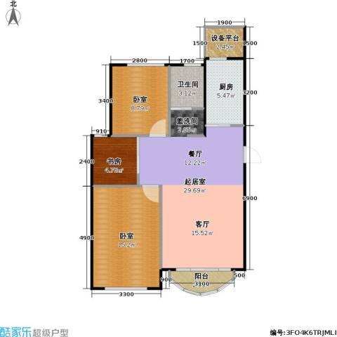 润德北京公园1室0厅1卫1厨94.00㎡户型图