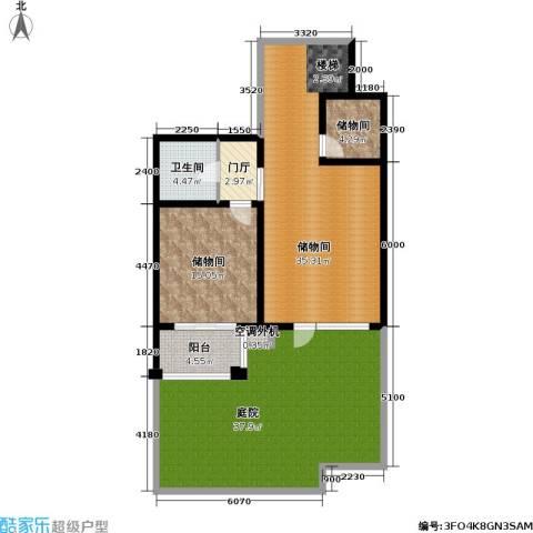 香湾(晶城秀府)1卫0厨137.00㎡户型图