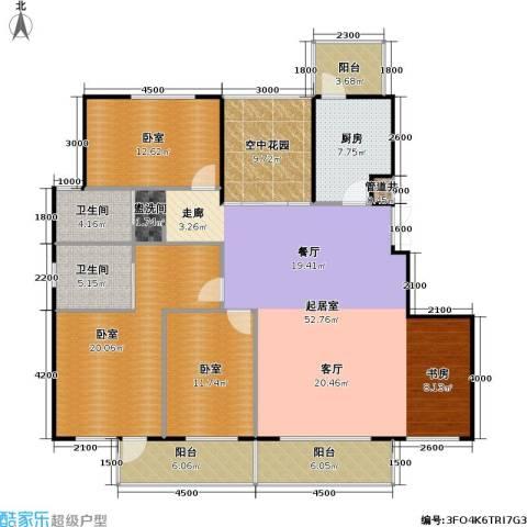 润德北京公园2卫1厨188.00㎡户型图