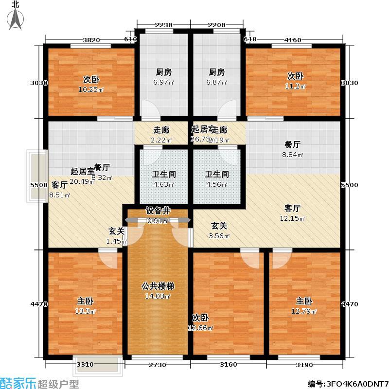 曼谷阳光曼谷阳光户型图(4/8张)户型10室