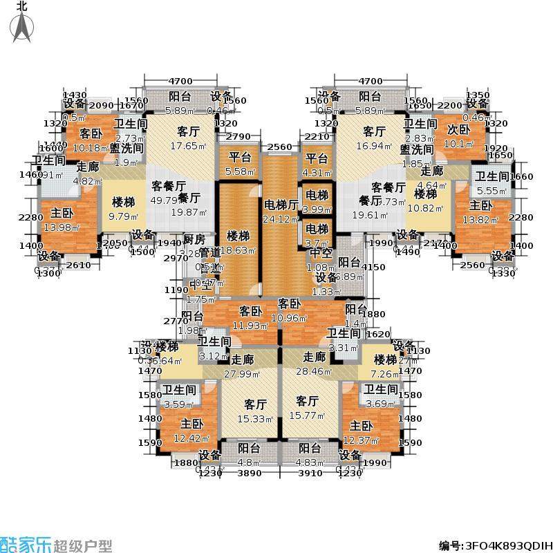 义方家园复式二层户型