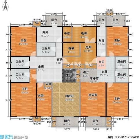 吉利经典5室2厅5卫2厨327.00㎡户型图