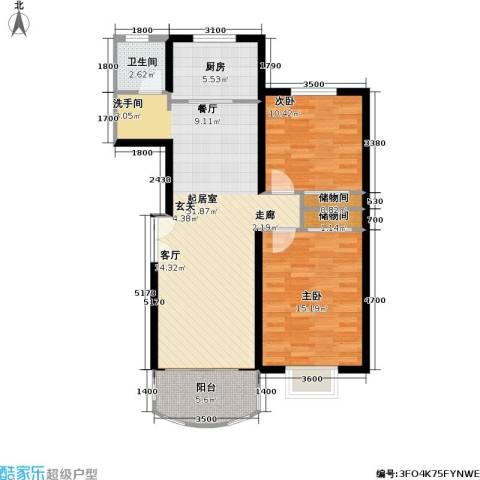 兴华童话世界2室0厅1卫1厨102.00㎡户型图