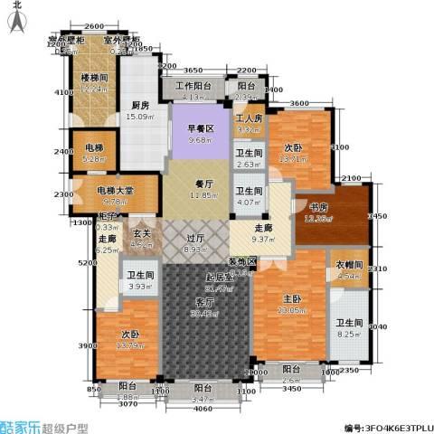 亿锋8号4室0厅4卫1厨258.07㎡户型图