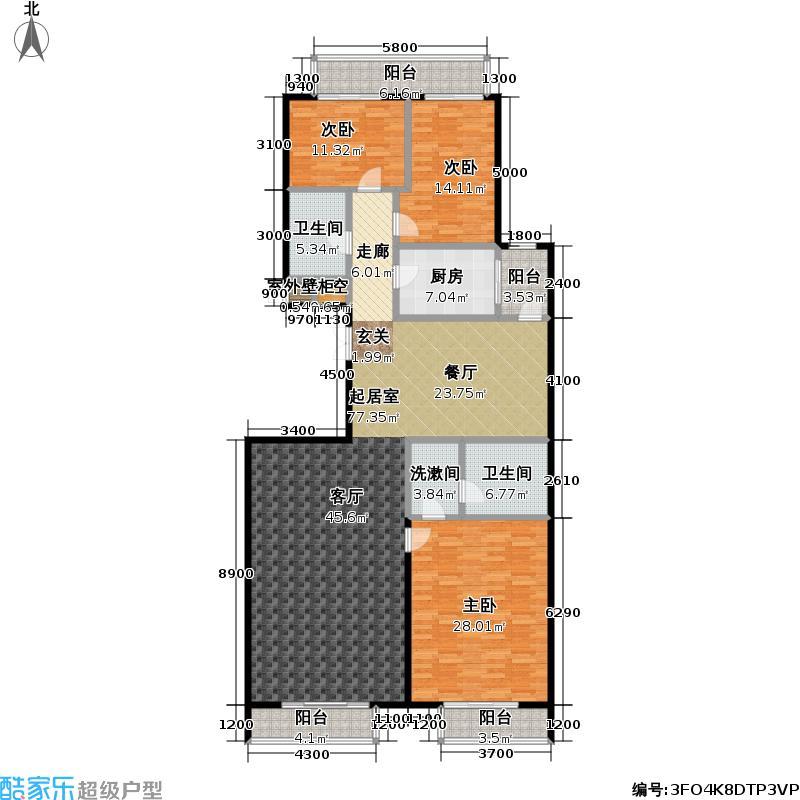 华荣公寓A户型
