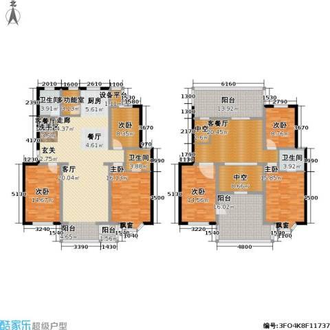 印象江南・太扬家园6室2厅3卫0厨213.28㎡户型图