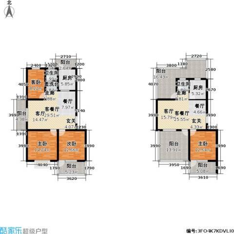 迪尚御园4室2厅2卫2厨236.00㎡户型图