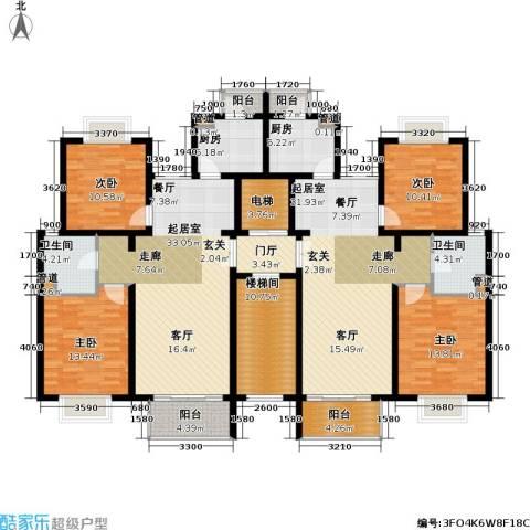 新梅共和城一期4室0厅2卫2厨161.97㎡户型图
