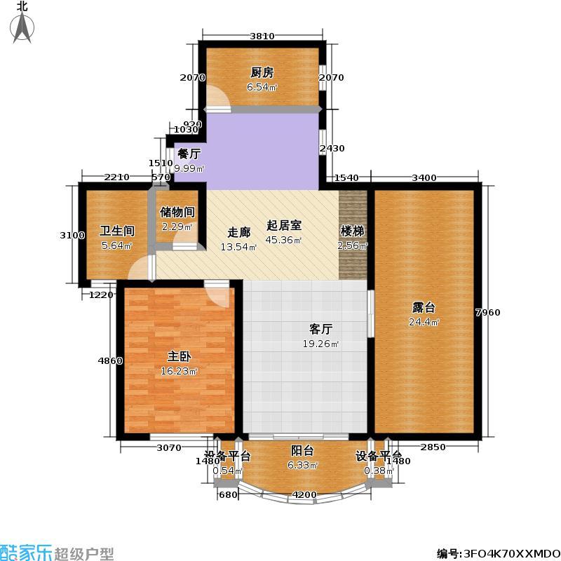 星源佳苑220.00㎡房型: 复式; 面积段: 220 -225 平方米; 户型