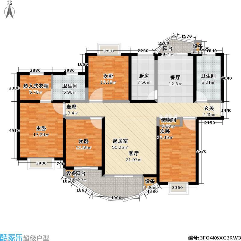 音乐广场(三期)173.09㎡房型: 四房; 面积段: 173.09 -173.09 平方米;户型