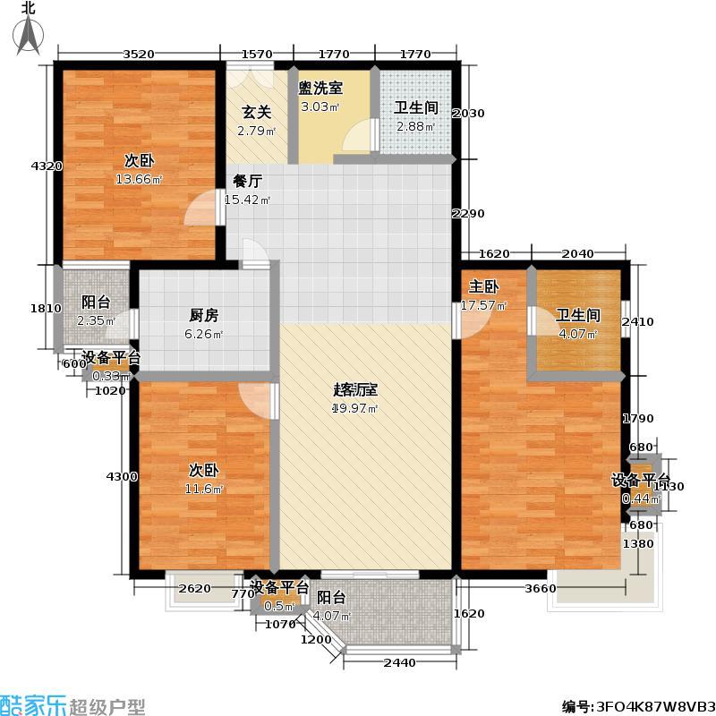 清上园图为9号楼D户型