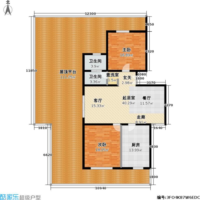 清上园图为10号楼G户型