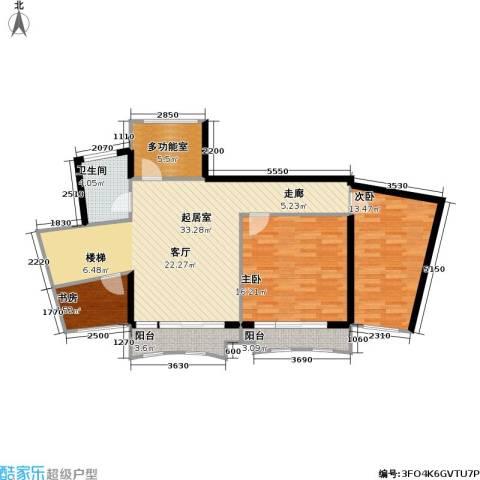 芳卉园(三期)3室0厅1卫0厨203.00㎡户型图