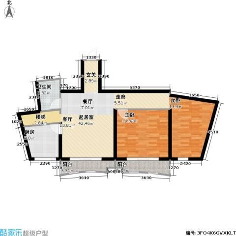 芳卉园(三期)1室0厅1卫1厨203.00㎡户型图