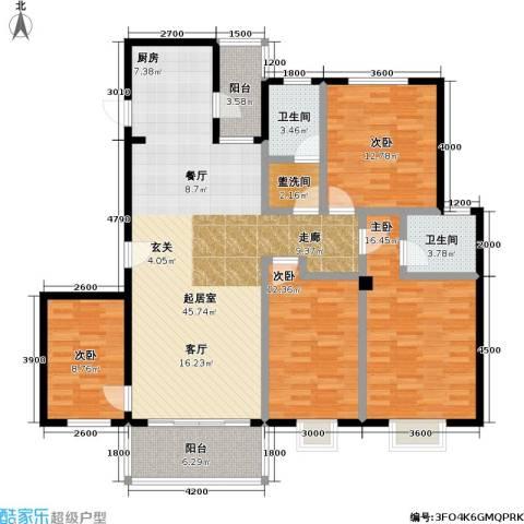 花前树下(二期)4室0厅2卫0厨139.00㎡户型图