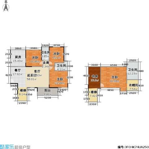一品名门云墅5室0厅3卫1厨225.66㎡户型图