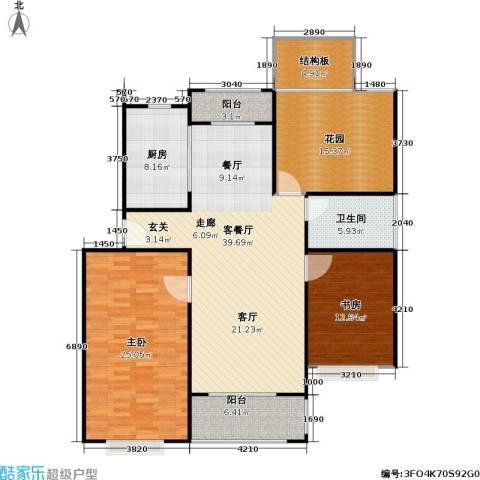 好世凤凰城一期2室1厅1卫1厨162.00㎡户型图