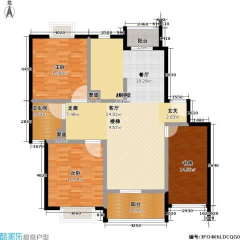 好世凤凰城二期3室0厅1卫0厨130.00㎡户型图