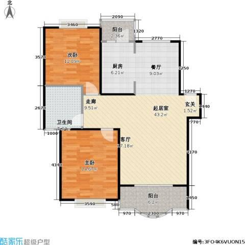 天馨花园八――十二期2室0厅1卫0厨90.00㎡户型图