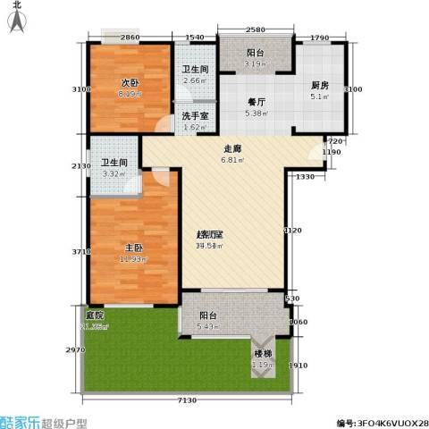 天馨花园八――十二期2室0厅2卫0厨90.00㎡户型图