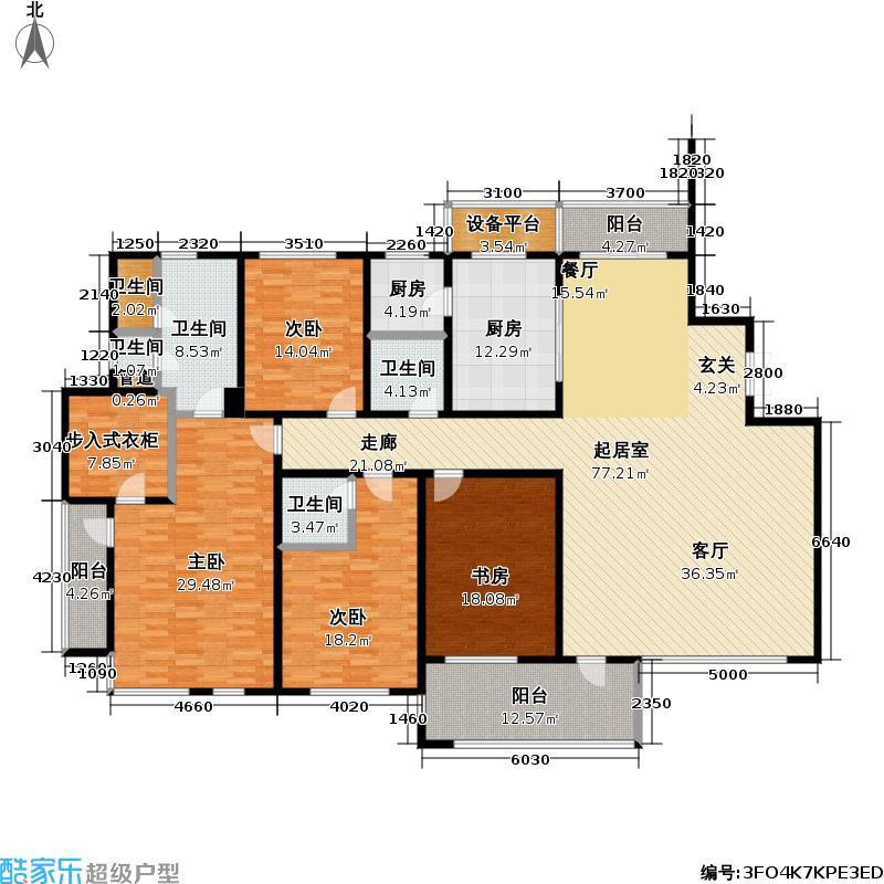 上海公馆四方--60套户型4室5卫2厨-副本