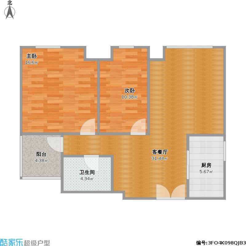 七彩云南第壹城E3户型