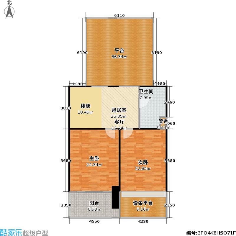 华晖绿苑一期151.06㎡房型: 复式; 面积段: 151.06 -234.91 平方米;户型