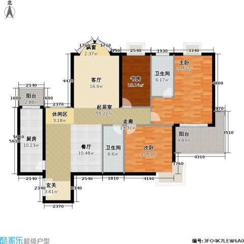 黄浦众鑫城二期3室0厅2卫1厨150.00㎡户型图