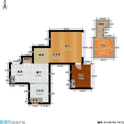 大众河滨大厦2室0厅1卫0厨55.09㎡户型图