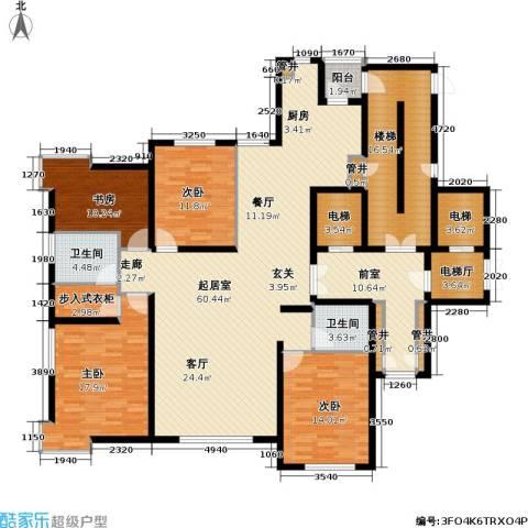 金广君悦山4室0厅2卫0厨190.37㎡户型图