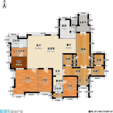 金广君悦山4室0厅2卫1厨194.08㎡户型图