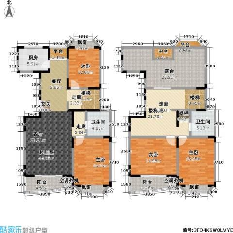 新理想家园一期4室0厅2卫1厨254.00㎡户型图