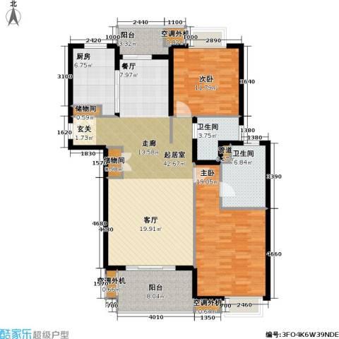 人本主邑2室0厅2卫1厨120.00㎡户型图