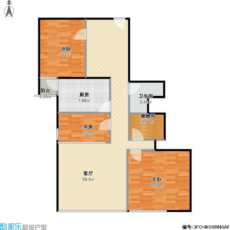 东向两室两厅