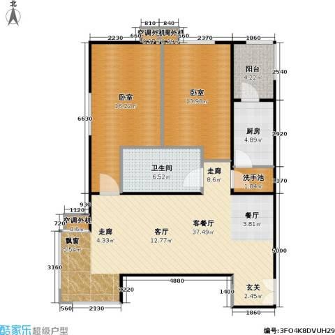 时代绿荫1厅1卫1厨115.00㎡户型图