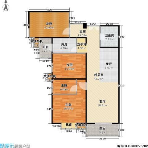 时代绿荫4室0厅1卫1厨146.00㎡户型图