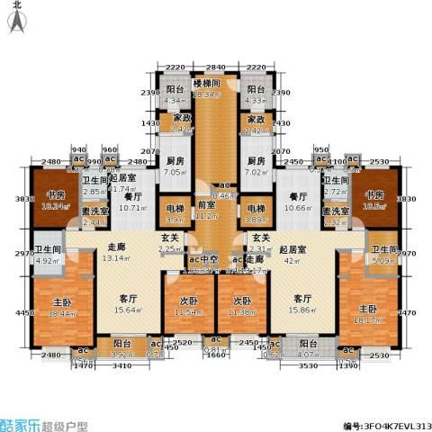 九号国际城6室0厅4卫2厨264.26㎡户型图