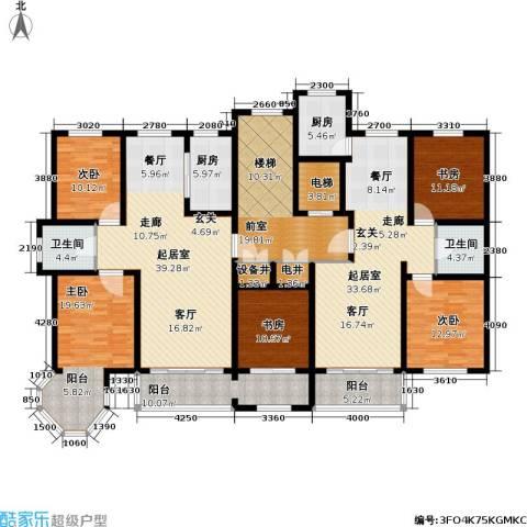 华源贝鸟逸轩5室0厅2卫2厨199.33㎡户型图