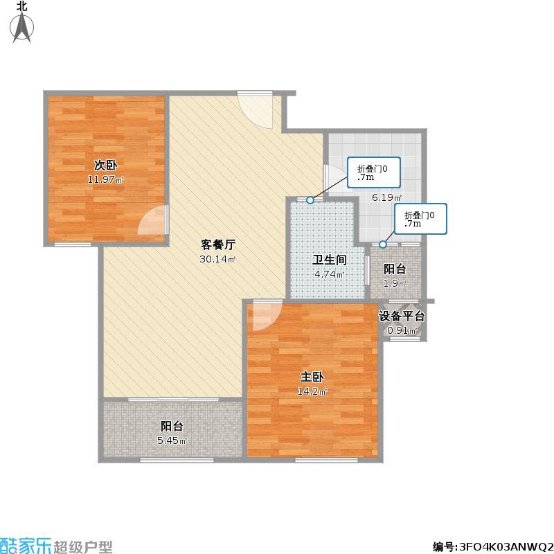荣光崴廉公馆2-C2+改后户型