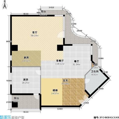 水岸名居1厅1卫1厨185.00㎡户型图