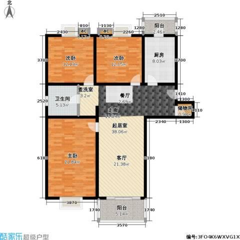 科兴公寓3室0厅1卫1厨150.00㎡户型图