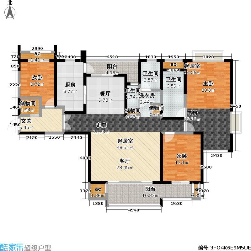 和风雅致173.00㎡和风雅致户型图f2户型(8/10张)户型3室2厅2卫