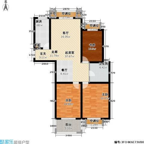 和平国际3室0厅1卫1厨149.00㎡户型图