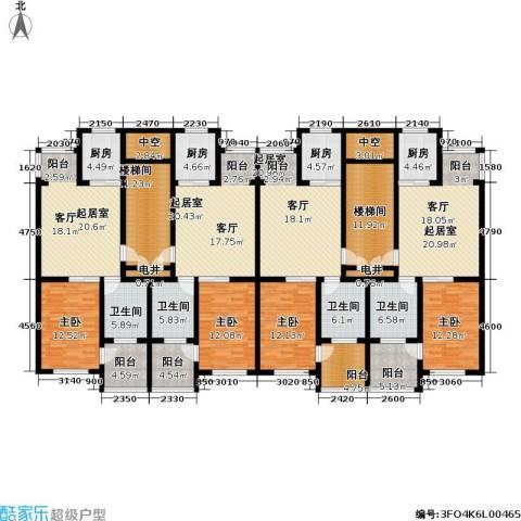 华威三十七英里4室0厅4卫4厨328.00㎡户型图