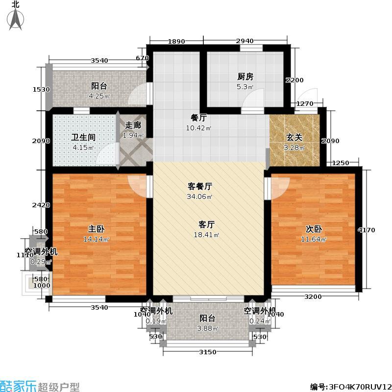 龙缘花园91.42㎡房型: 二房; 面积段: 91.42 -91.42 平方米;户型