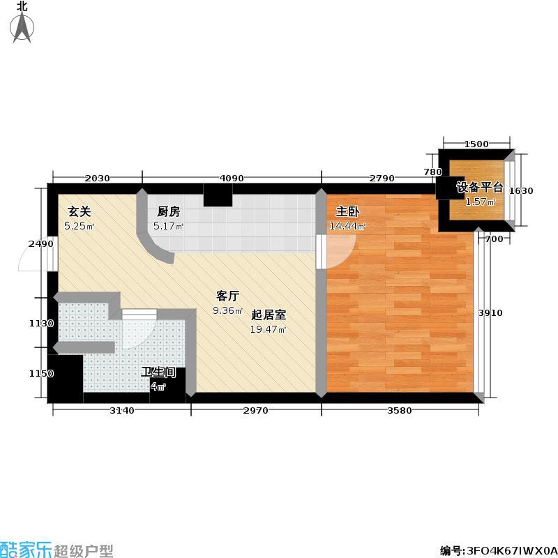 桃林雅景园48.94㎡桃林雅景园户型图48.94平方米(1/3张)户型10室
