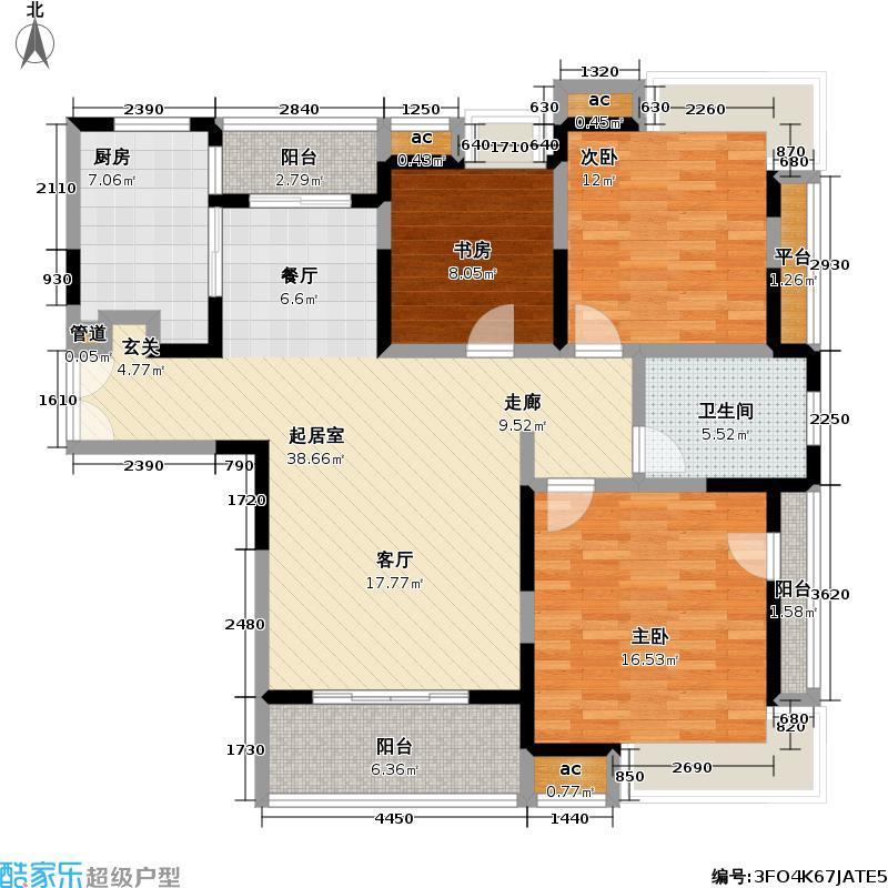 天地源橄榄湾120.00㎡天地源橄榄湾户型图房型:三房;面积段:120-130平方米;(3/5张)户型10室