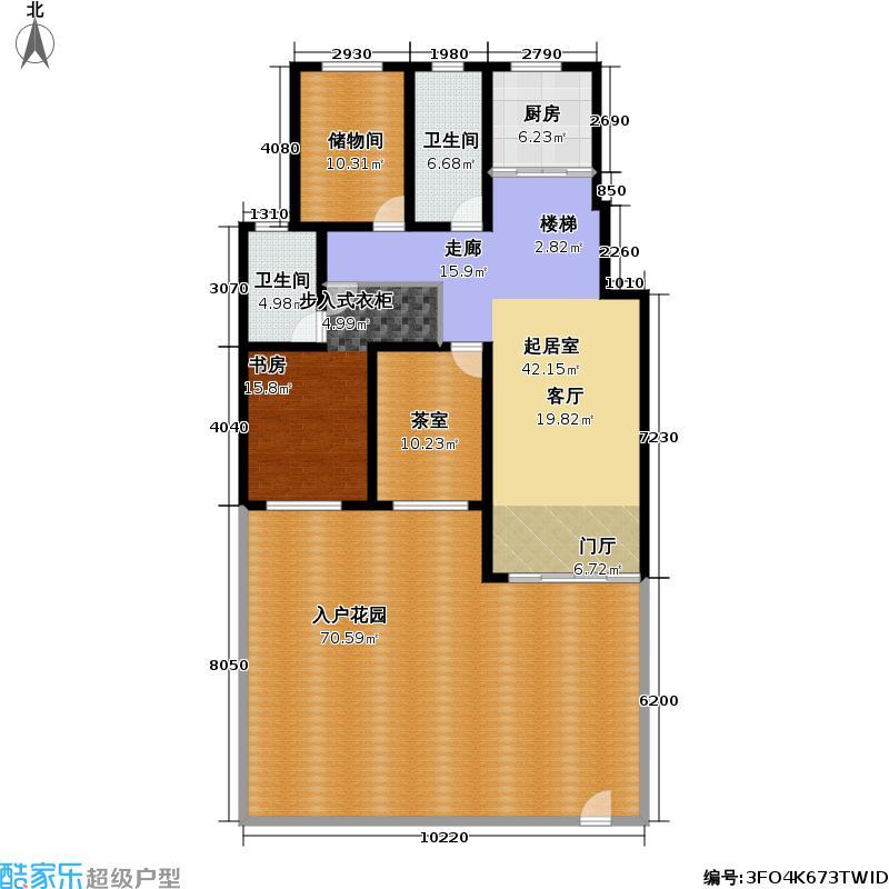 青岛红状元社区261.00㎡B21户型6室3厅4卫