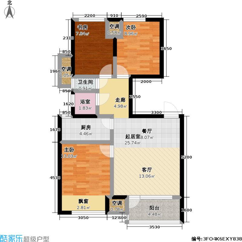 万科金色城品万科金色城品户型图(12/32张)户型10室