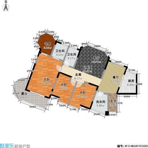 东湖品臻4室0厅2卫1厨168.00㎡户型图